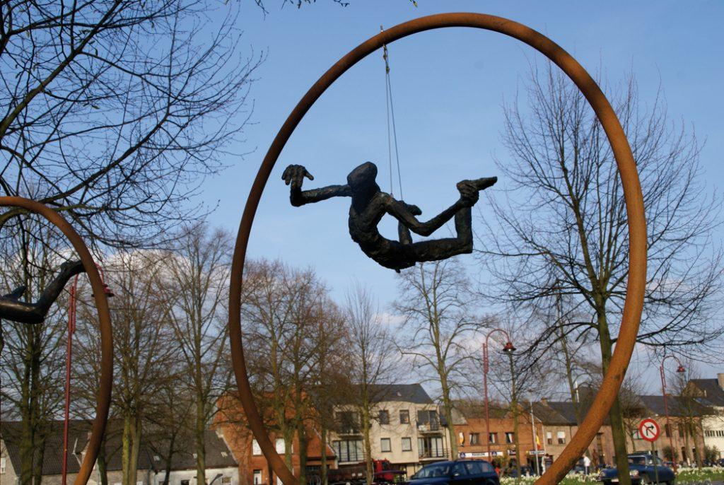 Beelden in het middelpunt Vlaanderen 2009