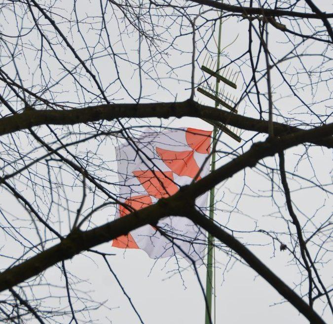 Opdorp: De heerlijkheid vlag